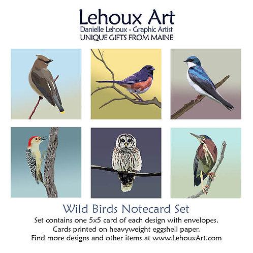 Wild Birds - Note Card Set