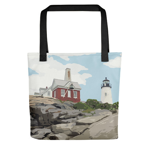 Pemaquid Point Light - Maine Lighthouse Tote Bag