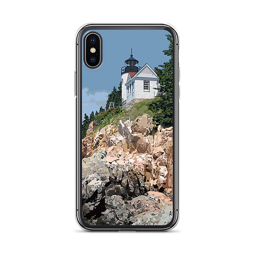 Bass Harbor Head Light - Maine - Phone Case