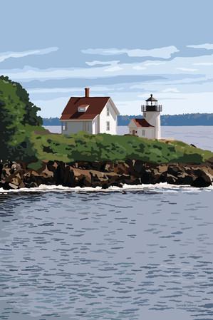 Curtis Island Light (2018)