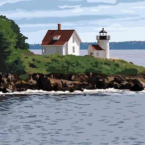 A Brief History of Curtis Island Light