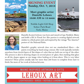 Signing Event - Nubble Light