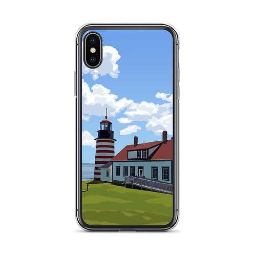 West Quoddy Head Light - Maine - Phone Case