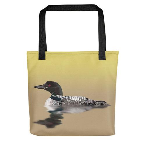 Common Loon - Bird Art - Tote Bag