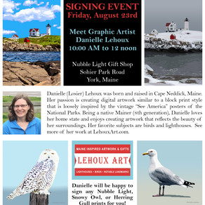 Signing Event - Friday, August 23rd