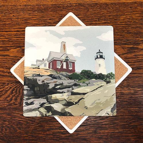 Pemaquid Point Light - Maine Lighthouse Trivet