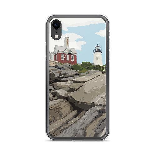Pemaquid Point Light - Maine - Phone Case