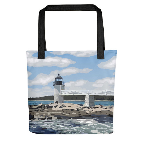 Marshall Point Light - Maine Lighthouse Tote Bag