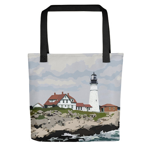 Portland Head Light - Maine Lighthouse Tote Bag