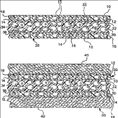 The barrier liquid and an air-permeable film having a cloth and virus