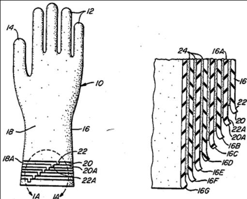 Peel away multi-layer gloves