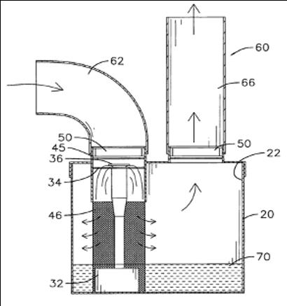 Sterilizing air filter