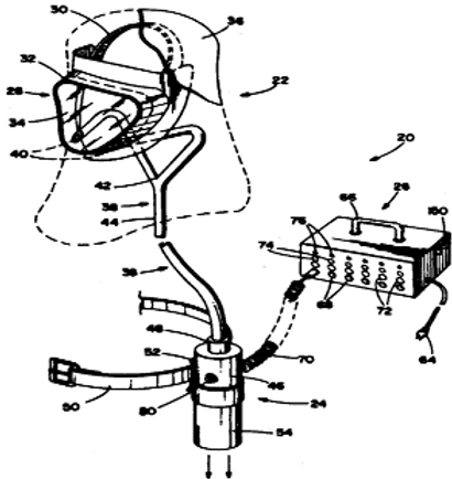 Personal ventilating system