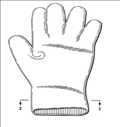 Aloe vera glove and manufacturing method