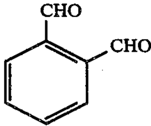 Odorless aromatic dialdehyde disinfecting and sterilizing composition