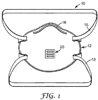 A face mask having a one-way valve