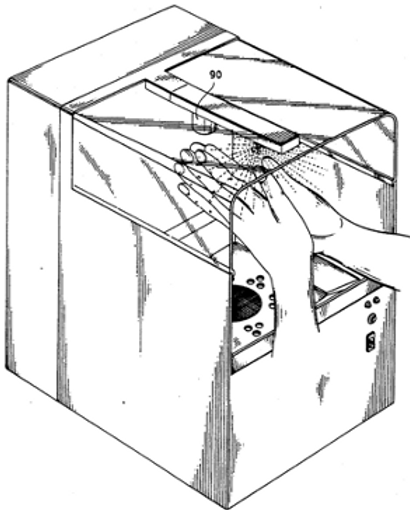 Structure of sterilizing hand dryer