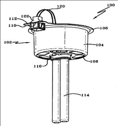 Light module for air treatment units
