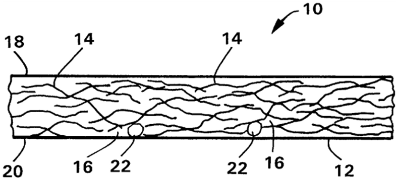 Microporous fabric containing a microbial adsorbent