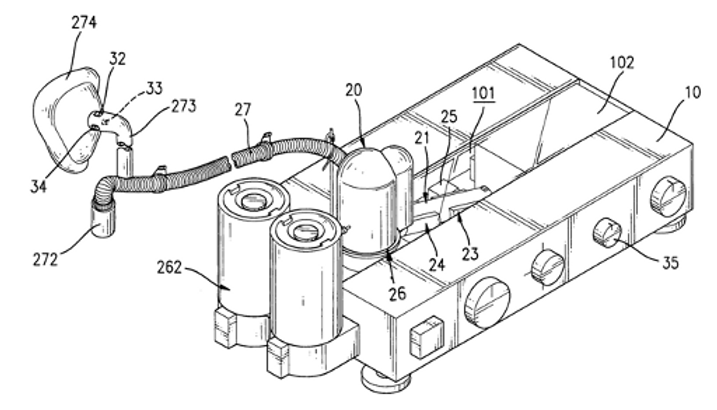 Adjustable auxiliary apparatus of stable air conditioning for human respiratory system