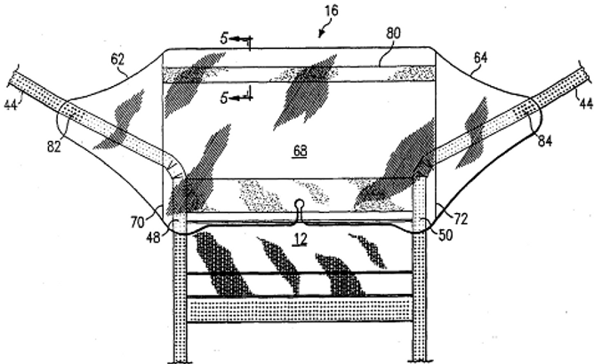 Method of manufacturing a liquid shield