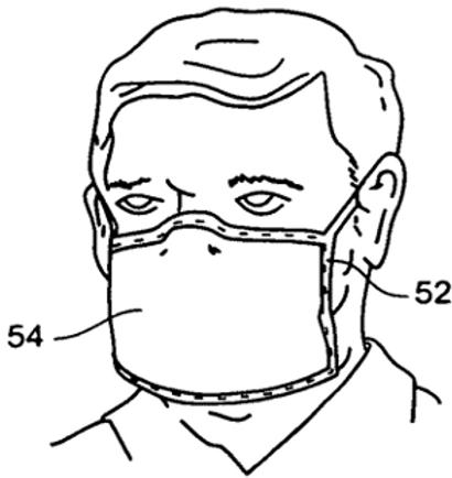 Facemask with filtering closure