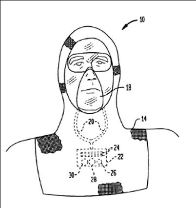 Antiviral and antibacterial respirator mask