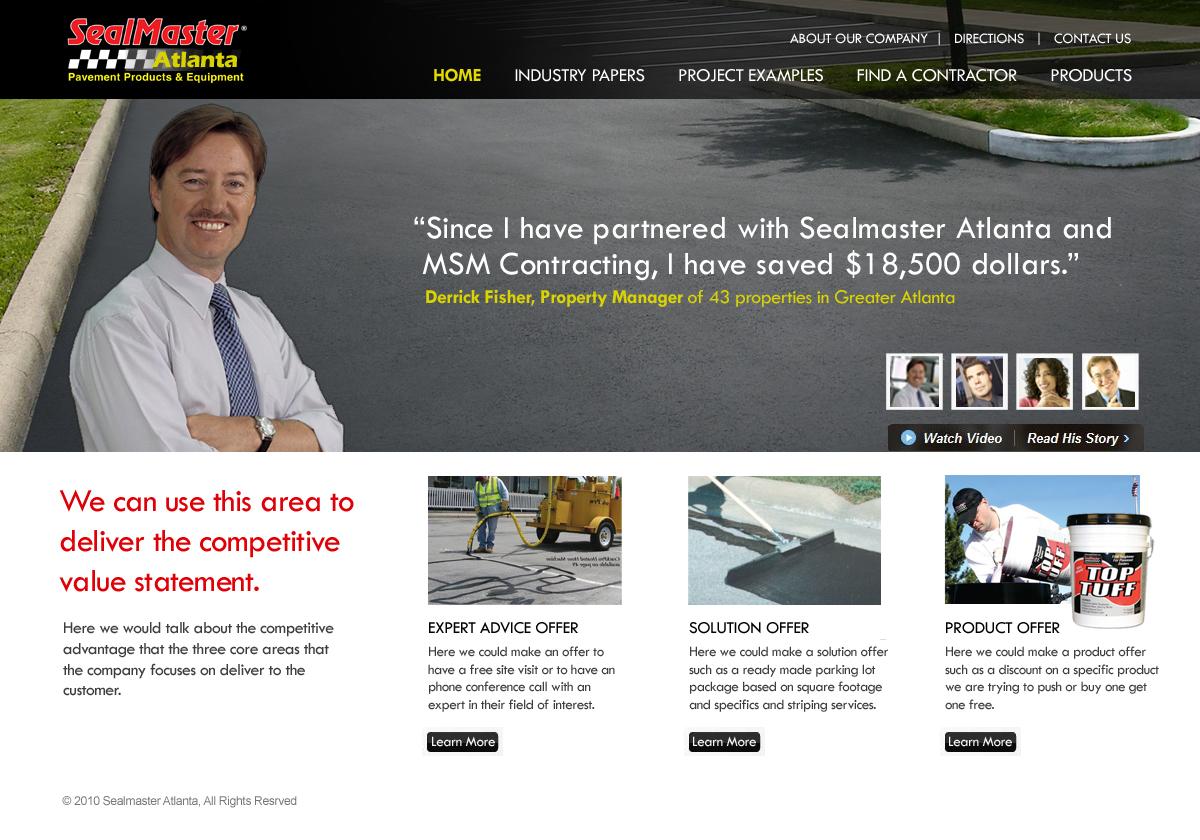 Sealmaster Campaign Microsite