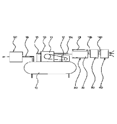 Method and device for producing compressed air for producing germless
