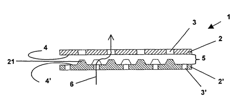 Adaptive membrane structure with insertable protrusions