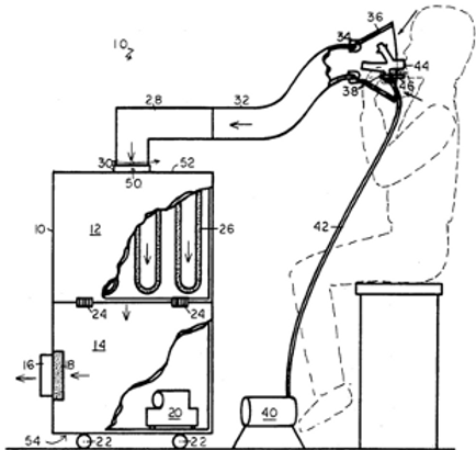 Respiratory filter apparatus and method