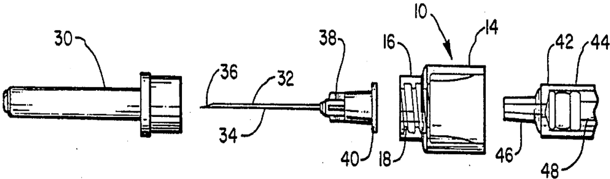 Device for removing hypodermic needles from syringe barrels