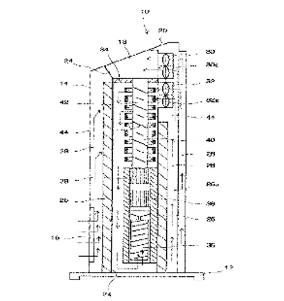 Deodorizing and sterilizing device and heat exchanger