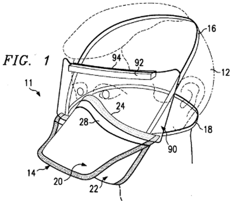 Disposable aerosol mask with face shield