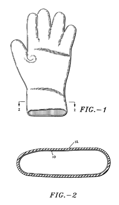 Skin-enhancing glove and method of manufacture
