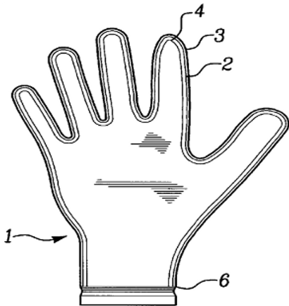 Production of rubber articles, such as gloves