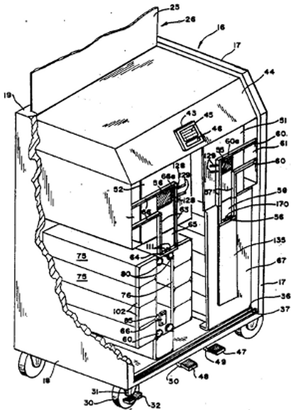 Apparatus for donning sterile gloves and sterile glove package for use therewith
