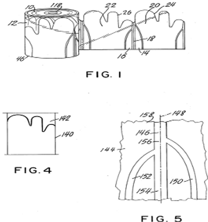 Plastic glove having a trigger finger and provided with lateral receptacles and related method and tooling