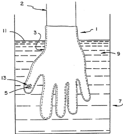Method for testing integrity of elastomeric protective barriers