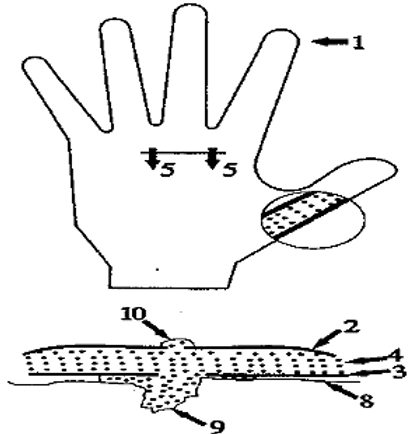Flexible protective medical gloves and methods for their use