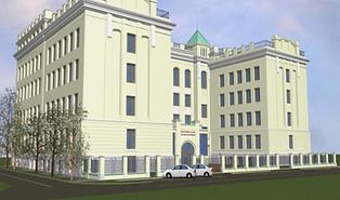 Реконструкция здания Общественной Палаты