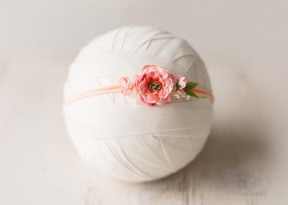 Alianne headband, peach