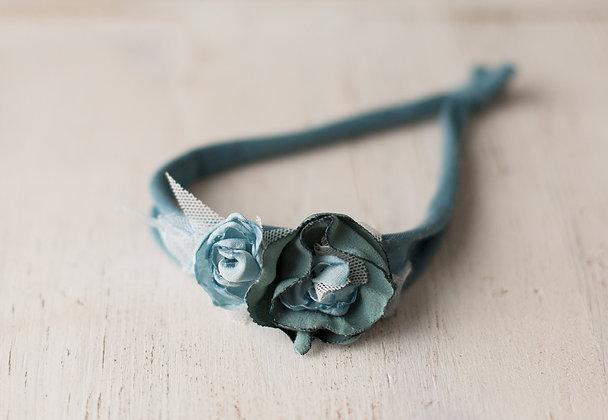 Livia headband, powder blue