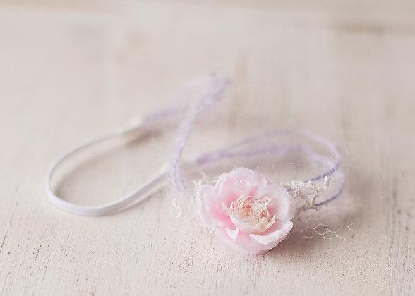 Iris headband, lilac