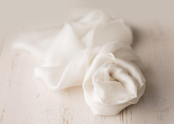 silk layer/wrap -cream
