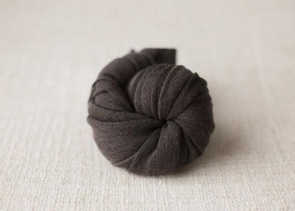 stretchy wrap -dark grey