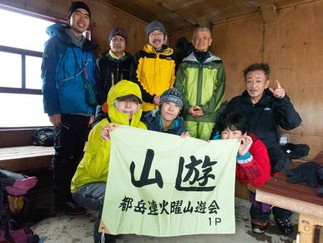 谷川岳 4月会山行冬1組 2021.4.13