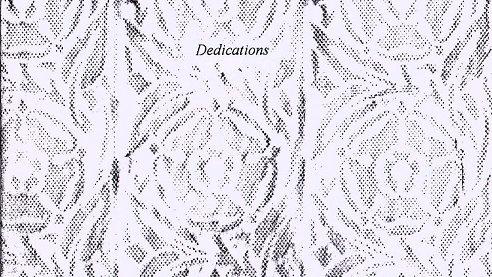 Dedications - Coming Soon