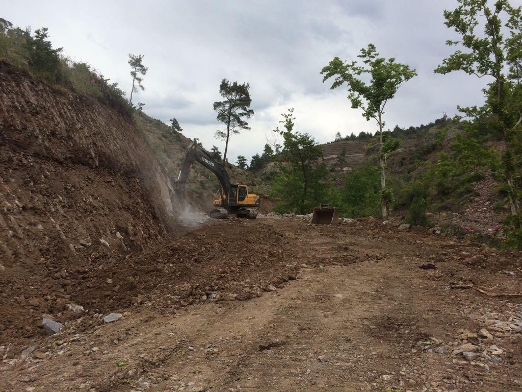 Seferihisar Orman Yolu Yapımı