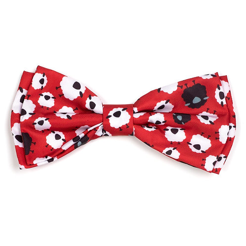 Counting Sheep Bow Tie from The Worthy Dog